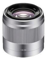 Sony E 50 mm F1.8 OSS 49 mm filter (geschikt voor Sony E-mount) zilver