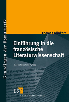 Einführung in die französische Literaturwissenschaft - Thomas Klinkert