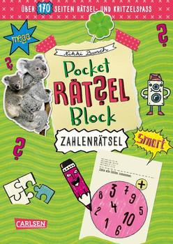 Pocket-Rätsel-Block: Zahlen-Rätsel. 100% Rätselspaß für deine Tasche - Nikki Busch  [Taschenbuch]