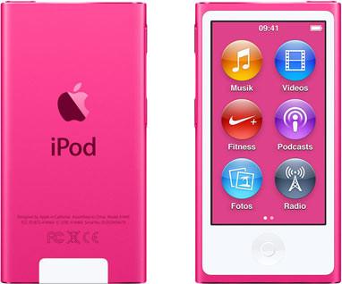 Apple iPod nano 7G 16 Go rose [2015]
