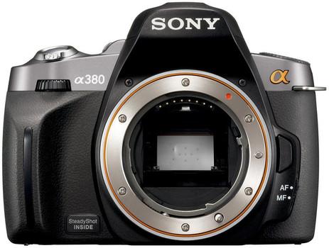 Sony Alpha 380 Body nero