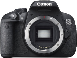 Canon EOS 700D zwart
