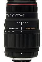 Sigma 70-300 mm F4.0-5.6 APO DG Macro 58 mm Obiettivo (compatible con Sony A-mount) nero