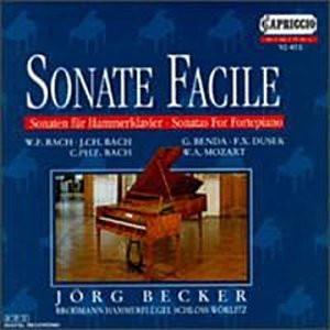 Jörg Becker - Sonate Facile