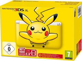 Nintendo 3DS XL Jaune Pikachu [incl. carte mémoire de 4Go]
