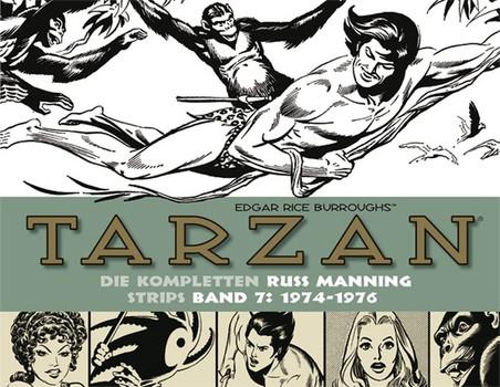 Tarzan: Die kompletten Russ Manning Strips / Band 7 1974 - 1976 - Edgar Rice Burroughs  [Gebundene Ausgabe]
