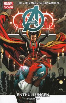 Avengers - Marvel Now!: Band 5 - Enthüllungen - Jonathan Hickman & Leinil Francis Yu [Broschiert]