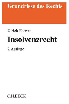 Insolvenzrecht - Ulrich Foerste  [Taschenbuch]