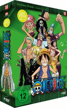 One Piece - Die TV Serie - Box Vol. 13 [6 Discs]