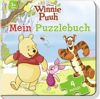 Disney Winnie Puuh: Mein Puzzlebuch - Mit 4 Puzzles [Pappbilderbuch]
