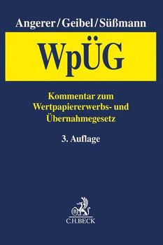 Wertpapiererwerbs- und Übernahmegesetz (WpÜG) [Gebundene Ausgabe]