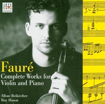 Alban Beikircher - Arte Nova - Werke für Klavier und Violine