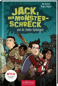 Jack, der Monsterschreck, und die Zombie-Apokalypse. Ein Netflix-Original - Max Brallier  [Taschenbuch]