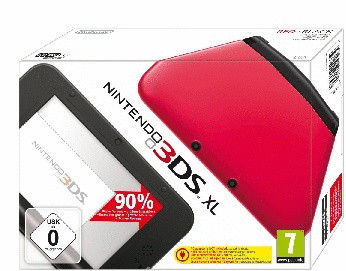 Nintendo 3DS XL [incl. 4GB geheugenkaart] roodzwart