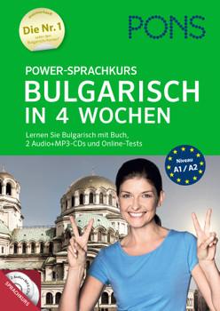 PONS Power-Sprachkurs Bulgarisch: Lernen Sie Bulgarisch mit Buch, 2 Audio+MP3-CDs und Online-Tests