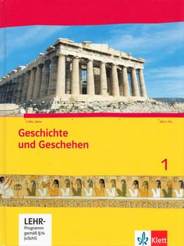 Geschichte und Geschehen 1: Für Gymnasium 6. / 7. Klasse in Hessen & Saarland - Michael Sauer [Gebundene Ausgabe, inkl. CD-ROM, 2. Auflage 2014]