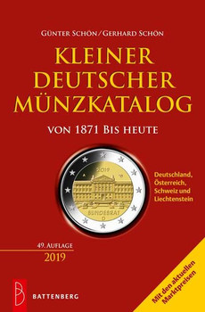 Kleiner deutscher Münzkatalog von 1871 bis heute - Gerhard Schön  [Taschenbuch]