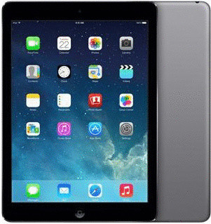 "Apple iPad Air 9,7"" 16GB [wifi + cellular] spacegrijs"