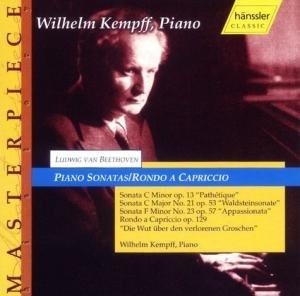 Wilhelm Kempff - Sonaten Op. 13, 21+23/Rondo