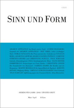 Sinn und Form 2/2018 [Taschenbuch]