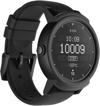 Mobvoi Ticwatch E 44mm black con cinturino in silicone ombra [Wifi]