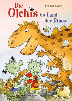 Die Olchis im Land der Dinos - Erhard Dietl  [Gebundene Ausgabe]