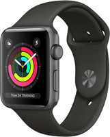 Apple Watch Series 3 42mm Caja de aluminio en gris espacial con correa deportiva gris [Wifi]