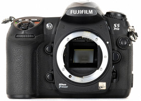Fujifilm FinePix S5 Pro noir