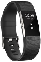 Fitbit Charge 2 Grande negro