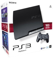 Sony PlayStation 3 slim negro [160 GB,Modelo Jl]