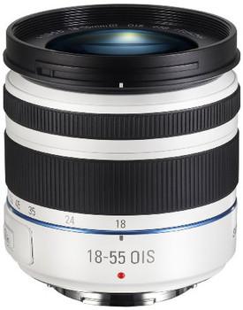 Samsung NX 18-55 mm F3.5-5.6 i-Function OIS III 58 mm Obiettivo (compatible con Samsung NX) bianco