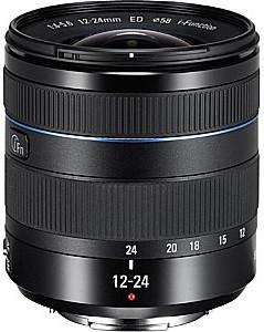 Samsung NX 12-24 mm F4.0-5.6 ED 58 mm filter (geschikt voor Samsung NX) zwart