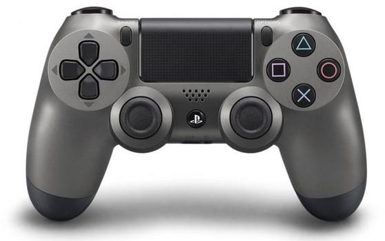 PS4 DualShock 4 draadloze controller steel zwart