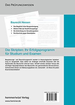 Baurecht Hessen - Karl Edmund Hemmer