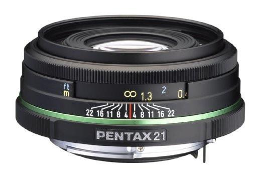 Pentax smc DA 21 mm F3.2 AL 49 mm Objectif (adapté à Pentax K) noir