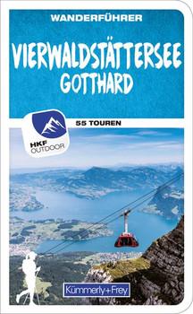 Wanderführer Schweiz Vierwaldstättersee / Gotthard (Zentralschweiz). Mit 55 Touren und Outdoor App - Franz Wille  [Taschenbuch]