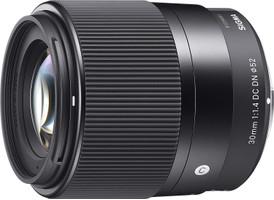 Sigma C 30 mm F1.4 DC DN 52 mm Objectif (adapté à Sony E-mount) noir