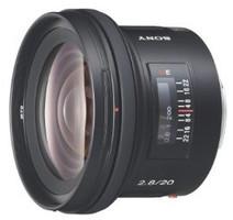Sony 20 mm F2.8 72 mm Obiettivo (compatible con Sony A-mount) nero