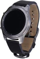 Samsung Gear S3 classic 33 mm zilver met leren bandje zwart [wifi]
