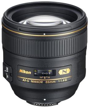 Nikon AF-S Nikkor 85mm 1:1.4 77 mm Obiettivo (Compatible con Nikon F Type) nero