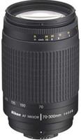 Nikon AF NIKKOR 70-300 mm F4.0-5.6 G 62 mm Objetivo (Montura Nikon F) negro