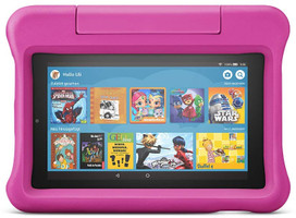 "Amazon Fire 7 7"" 16GB [wifi, Kids Edition, model 2019] roze"