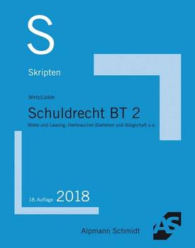 Skript Schuldrecht BT 2. Besondere Vertragsarten - Tobias Wirtz  [Taschenbuch]