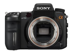 Sony Alpha 700 zwart