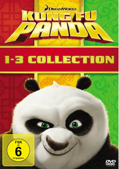 Kung Fu Panda 1-3 Collection [3 Discs]