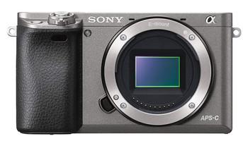 Sony Alpha 6000 Cuerpo gris grafito