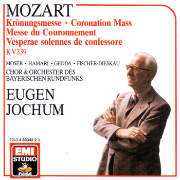 Eugen Jochum - Mozart: Krönungsmesse KV 339