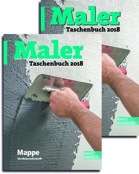 Maler Taschenbuch 2018. Band 1 und Band 2 als eingeschweißtes Package [Taschenbuch]