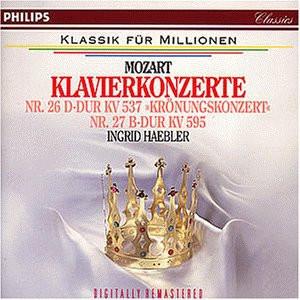 Haebler - Klavierkonzerte KV 537+595