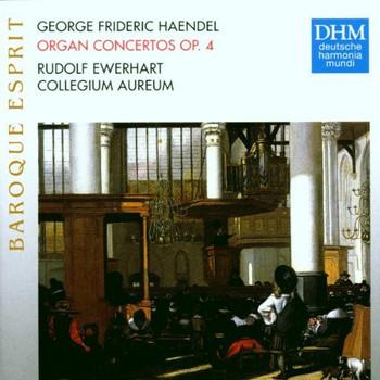 Ewerhardt - Baroque Esprit - Händel (Orgelkonzerte)
